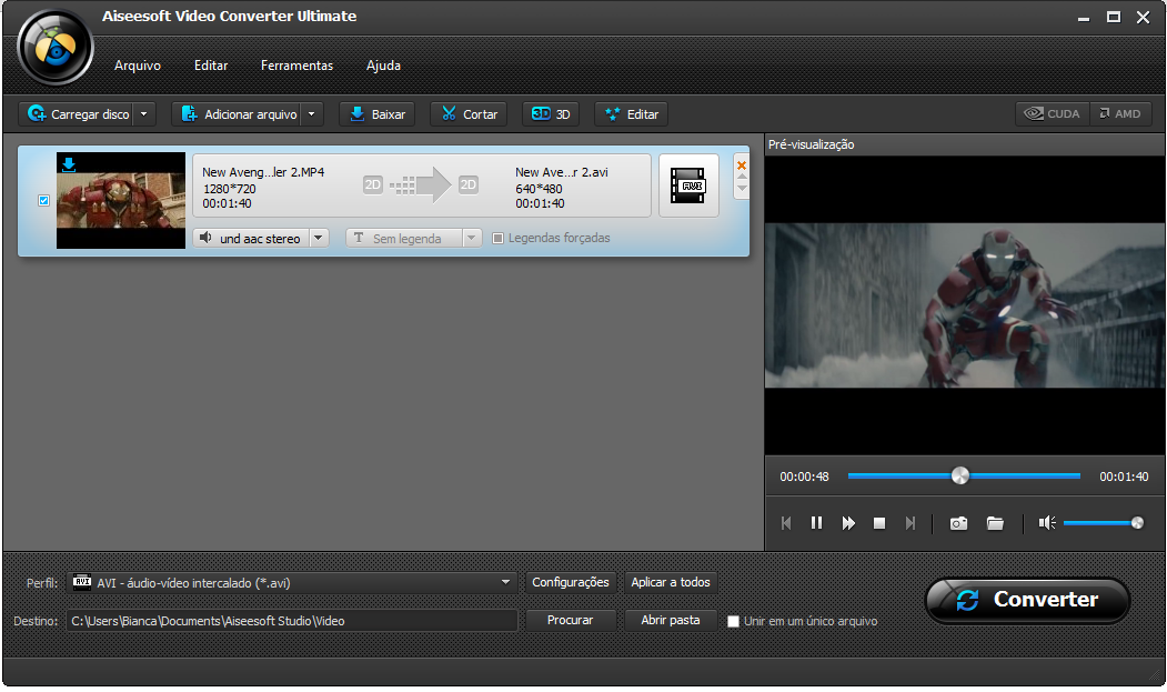 Fazer download de vídeo streaming