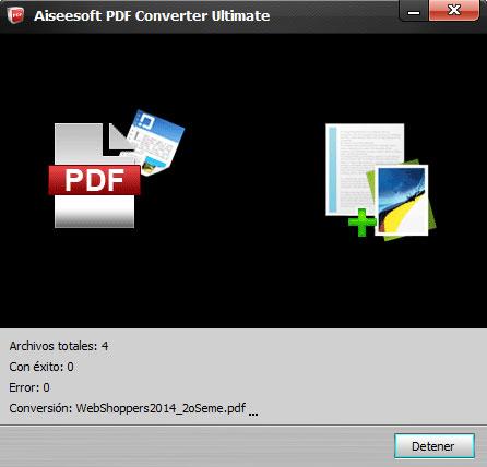 Convirtiendo archivos PDF