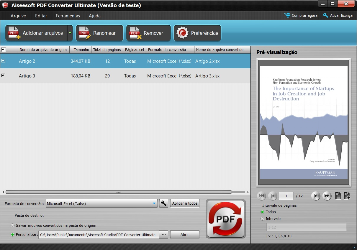 Abrir el programa e importe sus archivos PDF