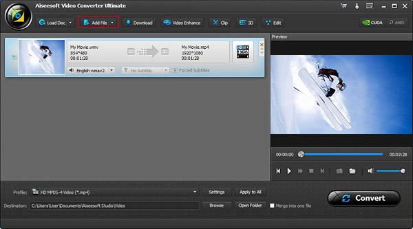 Aiseesoft Video Converter Ultimate - convertidor de videos