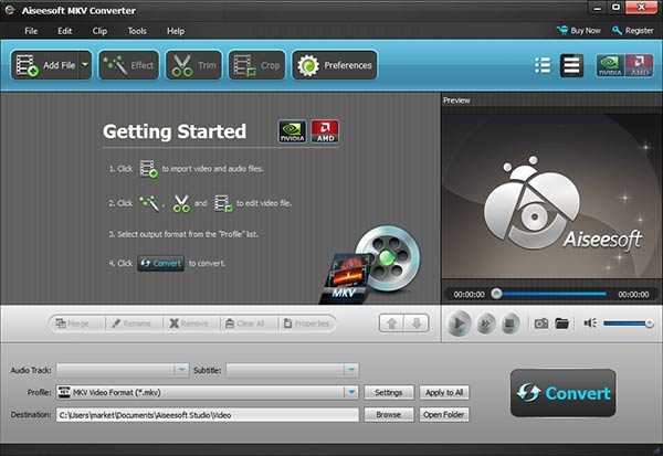 Instalar y abrir el Aiseesoft Video Converter Ultimate