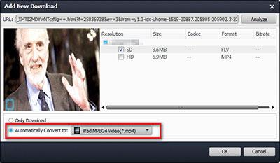 Seleccionar el formato que desea para sus videos