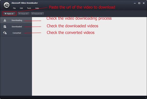 Abrir el Video Converter Ultimate para descargar sus videos
