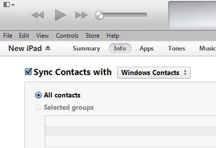 Sincronizar sus contactos