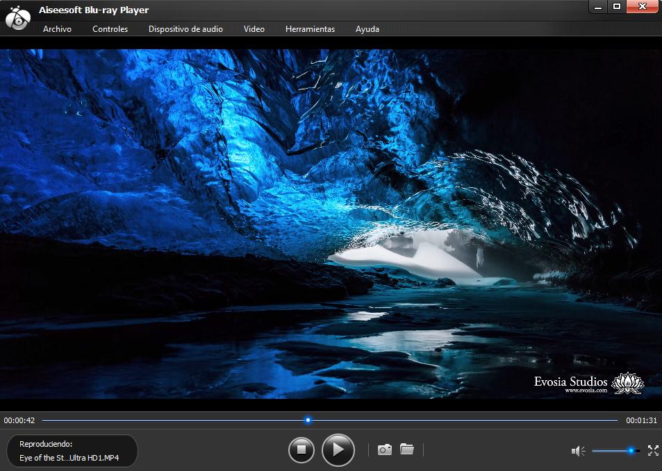 Ver videos resolución 4K con Aiseesoft Blu-ray Player