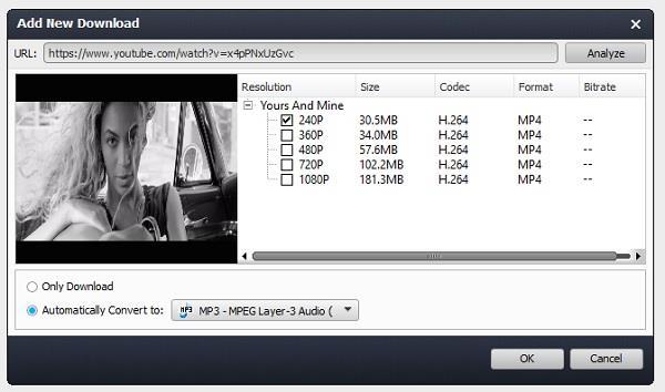Usar el Video Converter Ultimate para descargar videos del Youtube