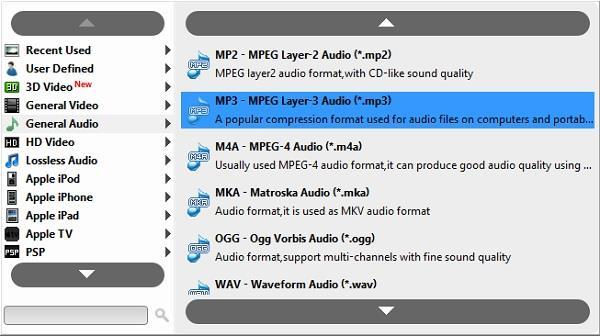 Descargar el video y seleccionar el formato MP3