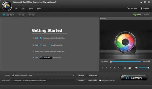 Abra el Video Converter Ultimate