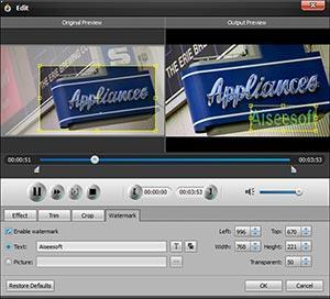 Editar sus videos