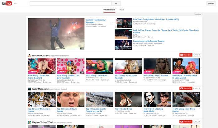 Encontrar el video que desee descargar