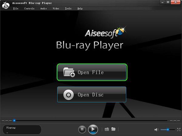 Abrir el Blu-ray Player