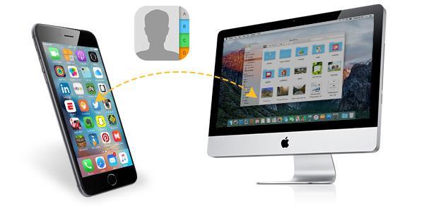 Transferir contactos del iPhone para un Mac