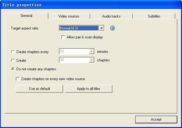 Editar las configuraciones generales