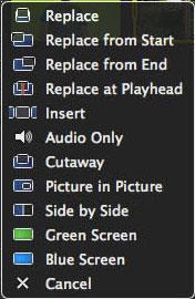 Arrastrar el video con fondo verde
