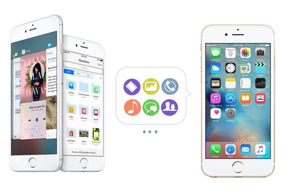 Transfiera sus archivos a su iPhone nuevo