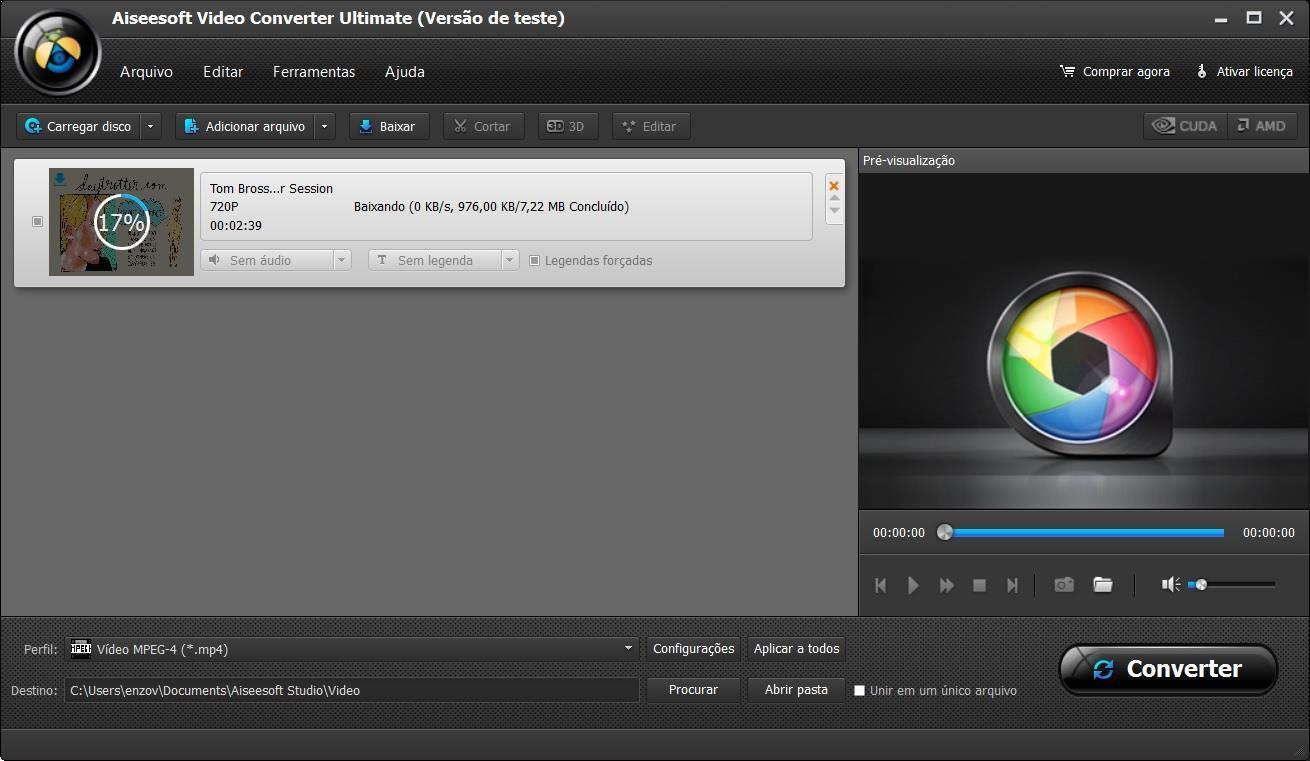 Descargar y convertir su video