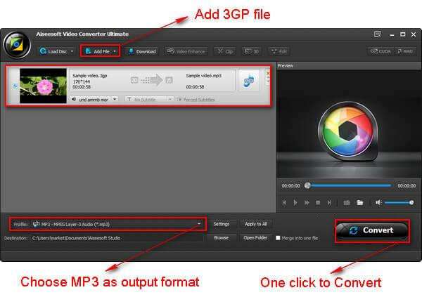 utilizar Video Converter Ultimate conversion 3gp