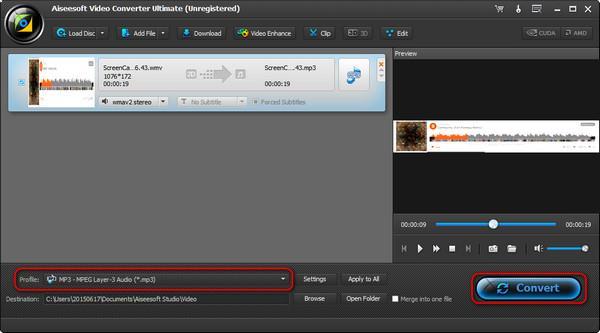 Convertir su música a MP3