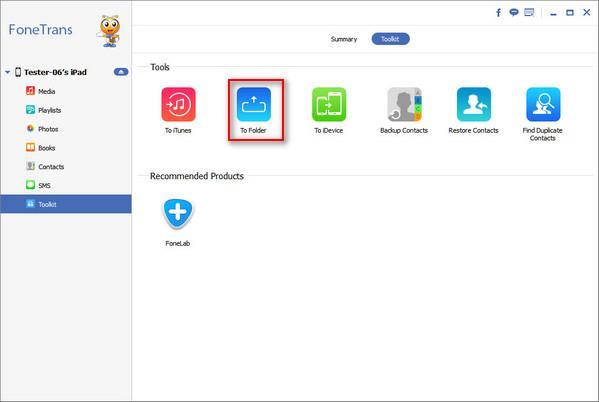 Hacer una copia de seguridad de su iPad a un disco duro externo