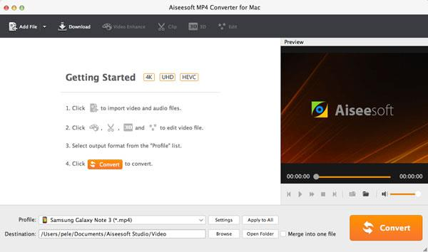Abrir el Video Converter Ultimate para Mac