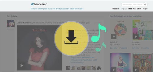 ¿Cómo descargar músicas del Bandcamp?