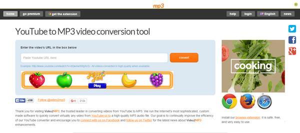 Video2MP3 sitio similar Datpiff