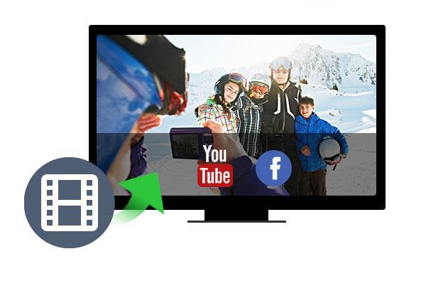 ¿Cómo enviar videos al YouTube o Facebook