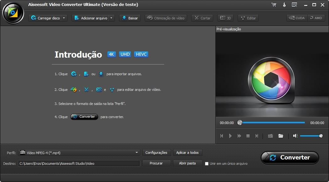 Abrir Aiseesoft Video Converter Ultimate