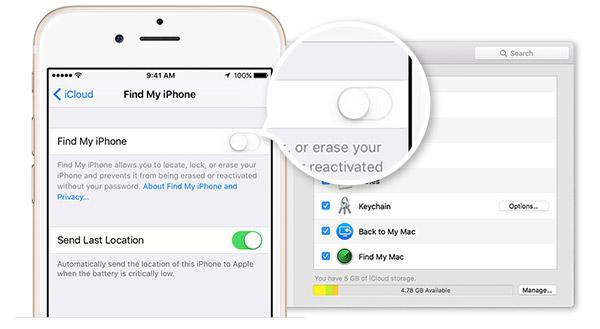 ¿Cómo desactivar la función Buscar de iPhone
