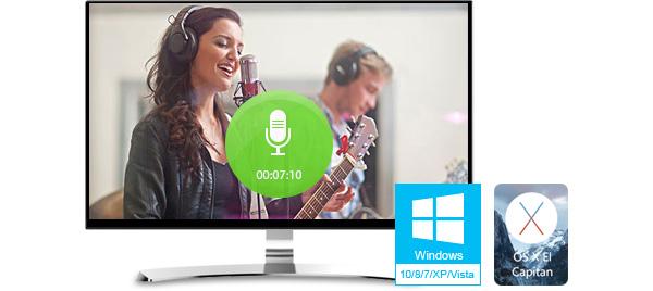 ¿Cómo grabar audio en el Windows y en el Mac?