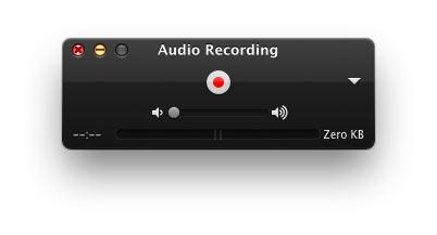 Grabar el audio de su micrófono