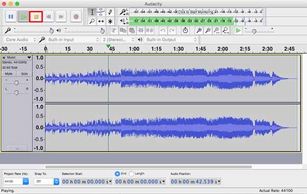 Editar sus archivos de audio