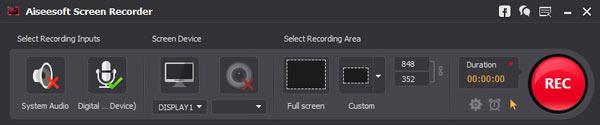 Activar las fuentes de audio deseadas