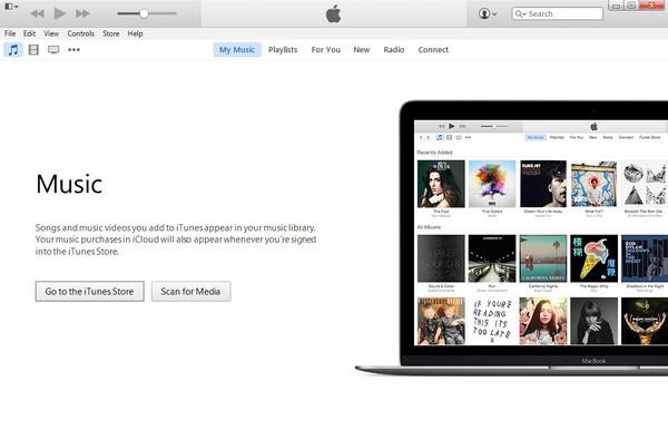 Abrir el iTunes