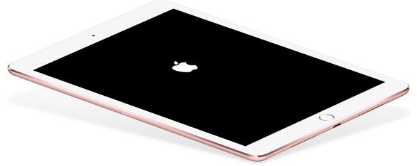 Arreglar un iPad bloqueado en el logotipo de la Apple