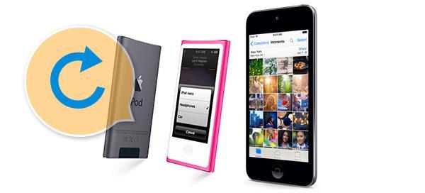 ¿Cómo recuperar archivos de un iPod?