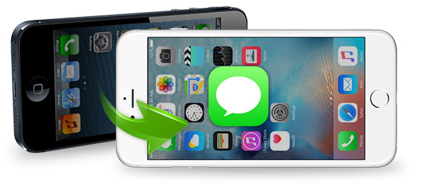 ¿Cómo transferir mensajes de texto entre iPhones?