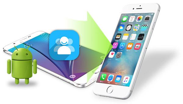 Transferir contactos del Android a un iPhone