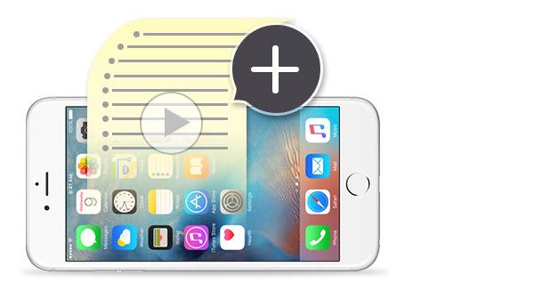Crear lista de reproducción iPhone FoneTrans
