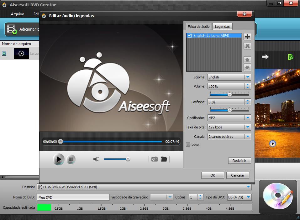 Edite seu vídeo MKV antes de gravá-lo