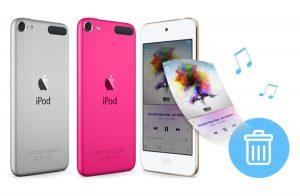 Eliminar música del iPod