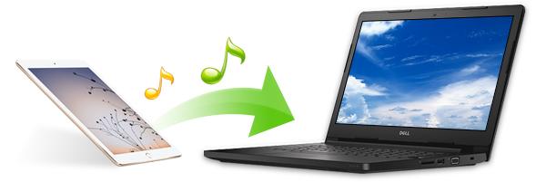 Transferir canciones del iPad al PC
