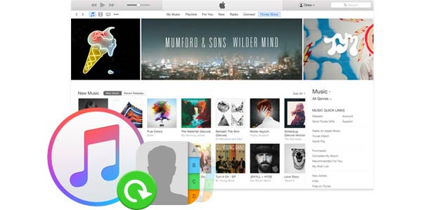Recuperação contatos iPhone FoneLab