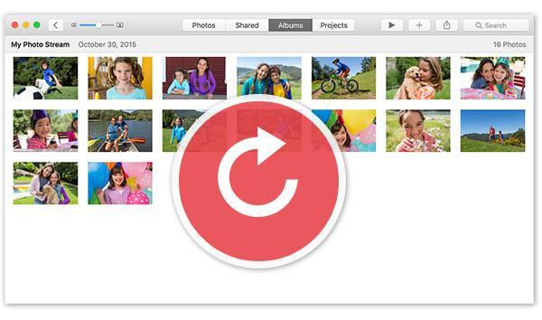 ¿Cómo recuperar fotos de Mis Fotos del iPhone?