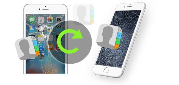 Recuperar contatos iPhone FoneLab