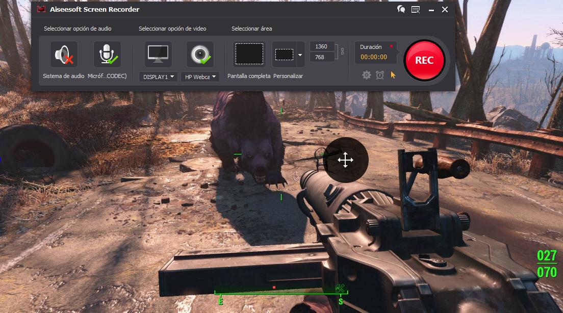 Grabación de partido de Fallout 4