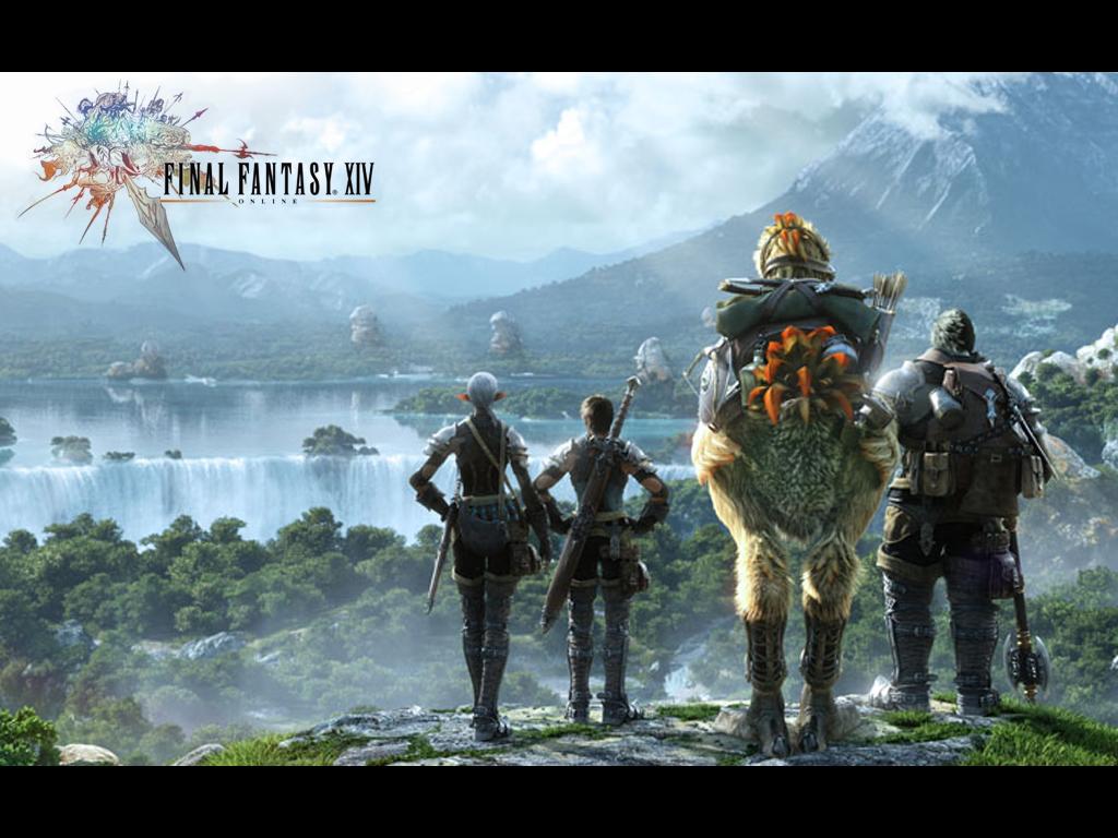 Gameplay Final Fantsasy XIV Online