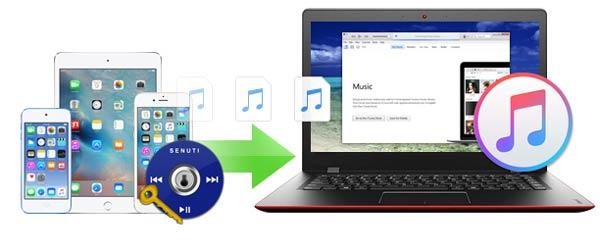 Alternativa al Senuti Windows FoneTrans