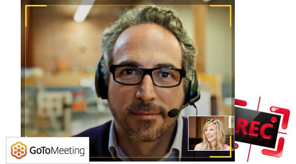 Grabar reunión GoToMeeting Android Screen Recorder