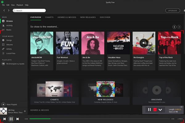Gravar música no PC ScreenRecorder